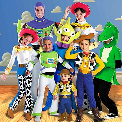 toy story family costume idea for halloween