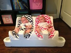 Life-Altering Baby Care Hacks, Baby Seat for Twins