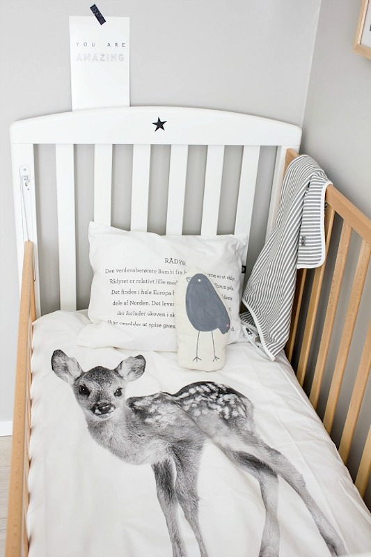 Bold Graphic Linens nursery