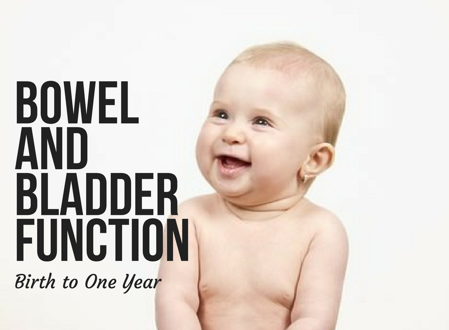 Bowel and Bladder Function Birth to One Year