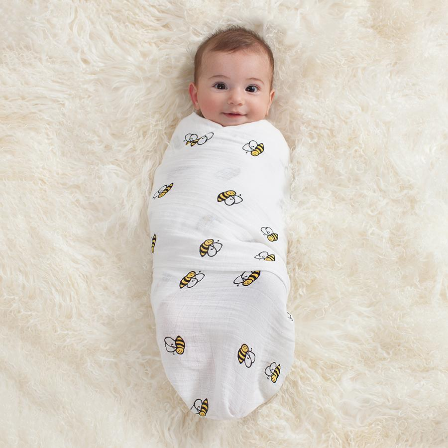 Baby Swaddled Tightly