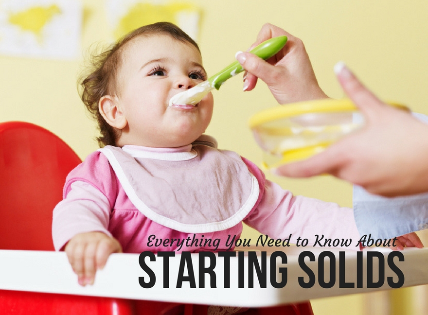Everything You Need to Know About Starting Solids