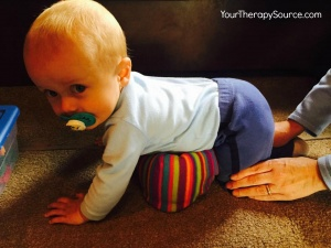 Crawling Baby on Floor