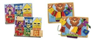 Practical Life Puzzle Boards