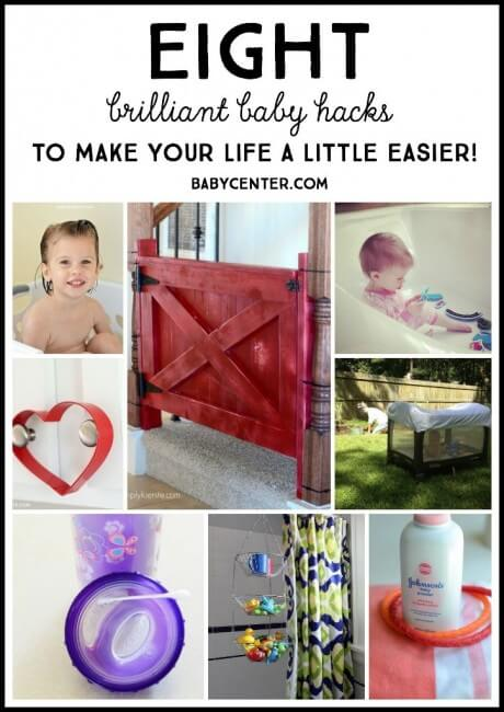 Making life with baby easier one hack at a time!