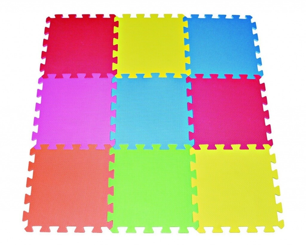Rubber floor mats baby - Interlocking Baby Floor Mats For Crawling