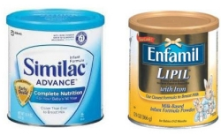 Similac and Enfamil are some of Best Formula to Supplement a Breastfed Baby