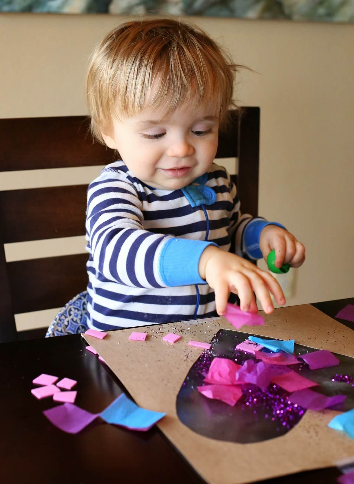 Valentine's Day Crafts for Babies - Heart Art