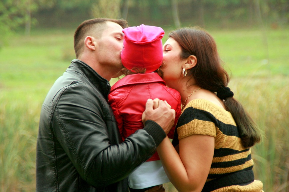 family, mother, father, child, family, love and affection