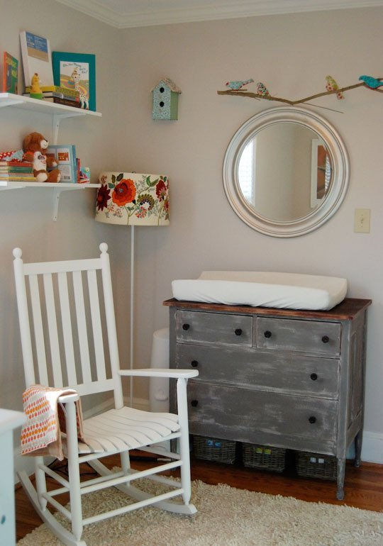 DIY diaper changing station ideas