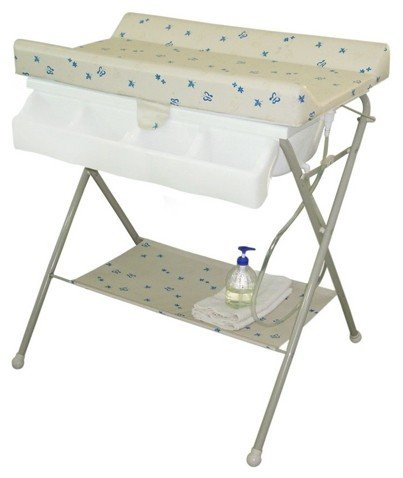 foldable baby changing station ideas