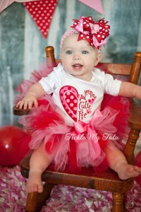 Baby's First Valentine's Day Outfit