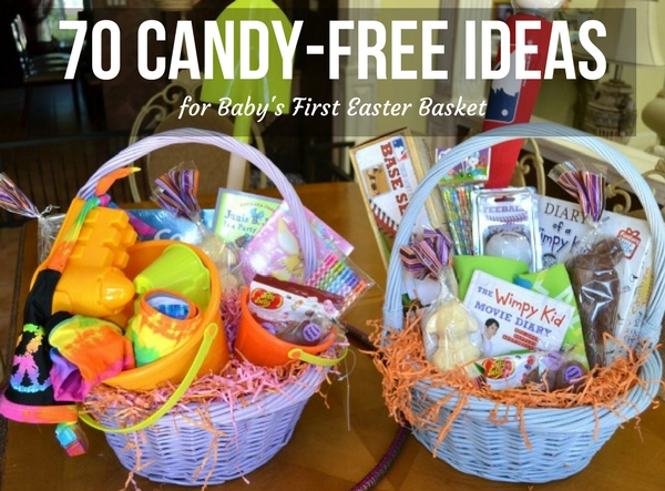 70 Candy-Free Ideas for Baby's First Easter Basket