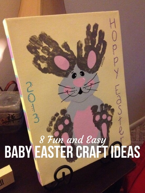 8 Fun and Easy Baby Easter Craft Ideas