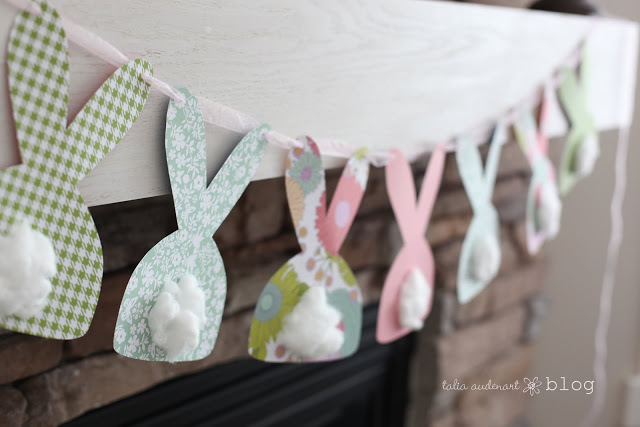baby Easter craft ideas bunny bums