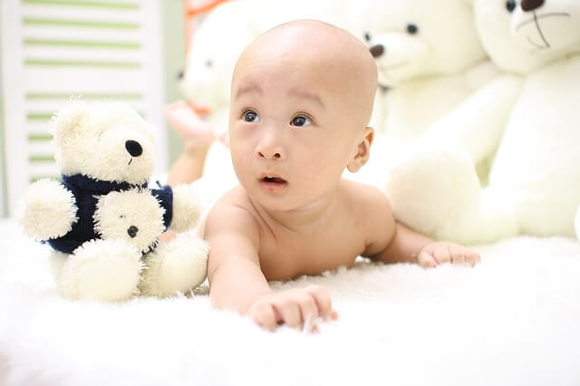 photo of baby With Toys/Stuffed Animals