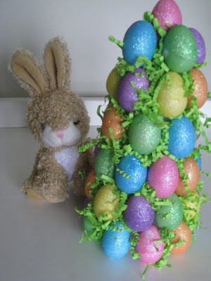 Easter egg tree, baby Easter craft ideas