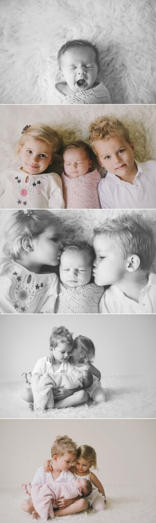newborn photos with siblings