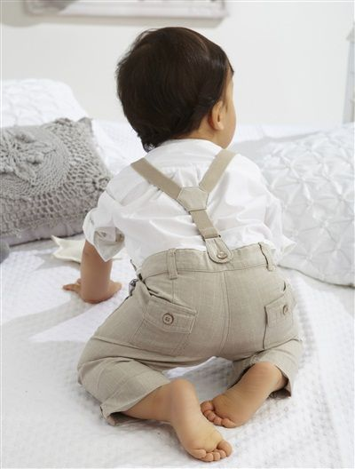 overalls for baby boy to wear for wedding