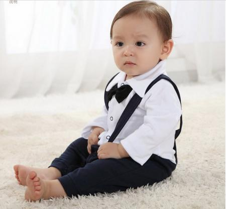Baby Boy Dressed For Wedding