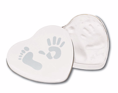 first Mother's Day ideas from baby Hand and footprint impression kit