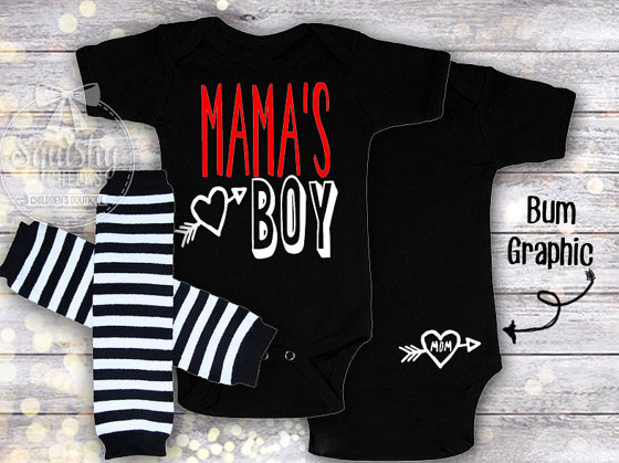 Mama's boy outfit for mother's day