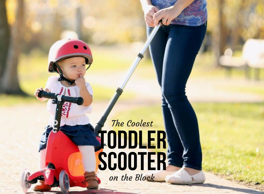 The Coolest Toddler Scooter on the Block