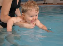 what temperature should a pool be for a baby