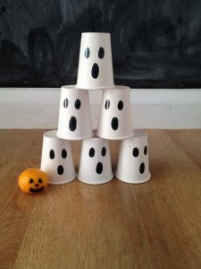 baby's first halloween ghost bowling