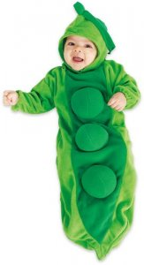 Peas bunting halloween costume ideas for baby