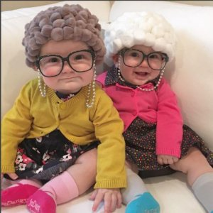 grandma halloween costume for twins