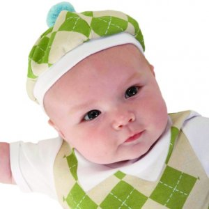 Baby golfer costume halloween costume for a newborn baby