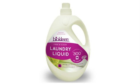 BIOKLEEN LAUNDRY LIQUID, FREE + CLEAR laundry detergent for babies