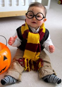 harry potter DIY halloween costume
