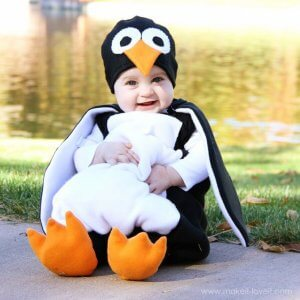 penguin DIY halloween costume