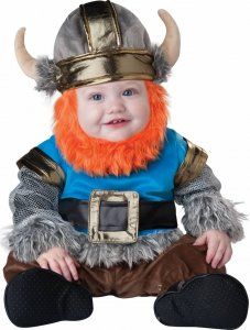 king of the vikings Halloween Costume for Mom and Baby