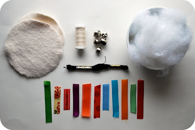DIY FLEECE BABY TOY SUPPLIES