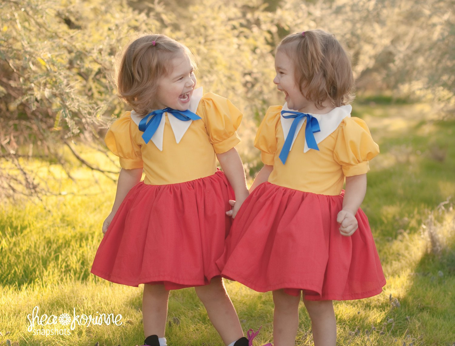 Tweedledee-Tweedledum cute halloween costumes for baby twins