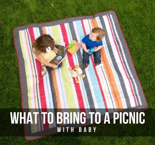 What to bring to a picnic with baby