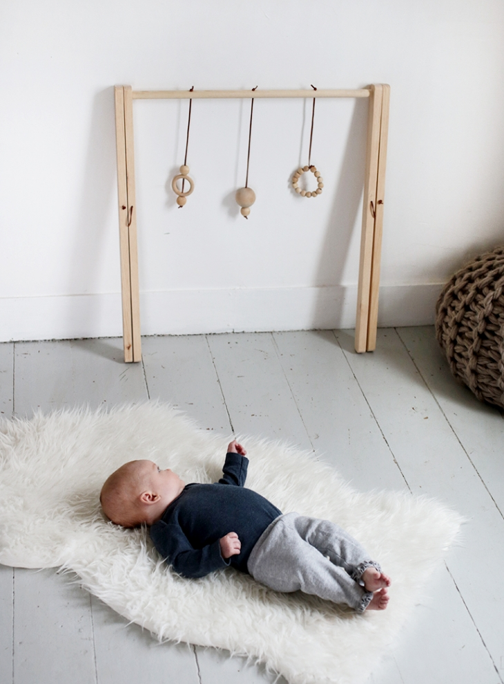 DIY WOOD BABY GYM SUPPLIES