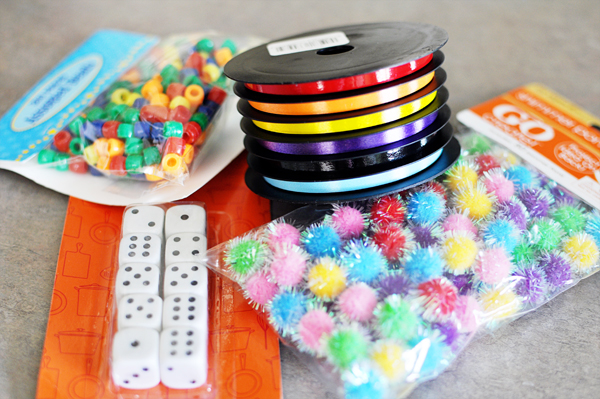 supplies for sensory toy