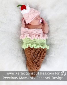 ice cream halloween costume for newborns