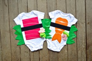 sushi twin set halloween costume for twins
