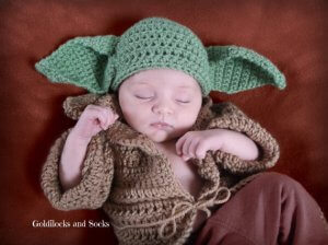 yoda DIY halloween costume