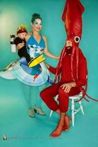 under the sea Halloween Costume for Mom and Baby