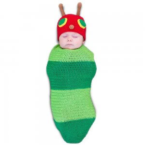 Caterpillar halloween costume for newborns