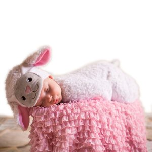 little lamb DIY halloween costume