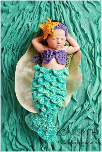 mermaid halloween costume for newborns
