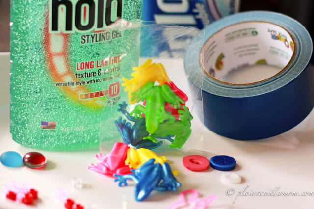DIY BABY PLAY SENSORY BAG SUPPLIES