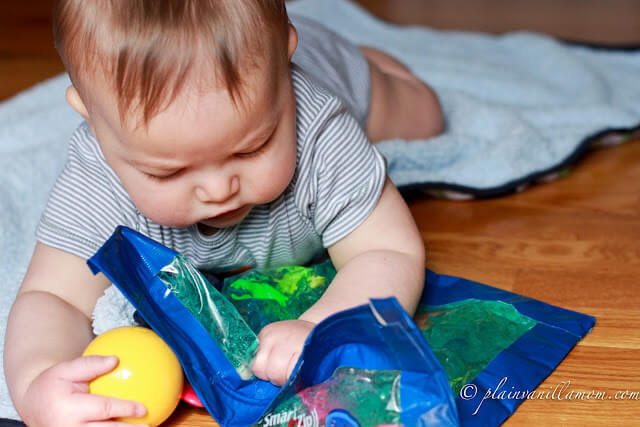 DIY BABY PLAY SENSORY BAG